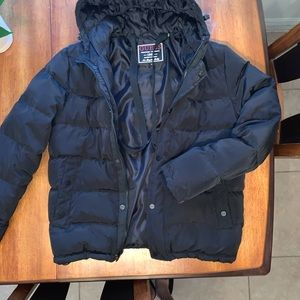 Bubble/puffer jacket made by Guess